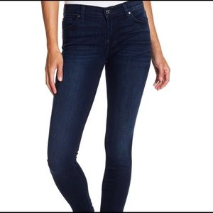 7FAM 7 For All Mankind The Skinny Dark Jeans